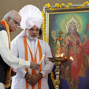 RSS is the real WINNER in Modi-Advani tussle