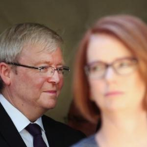 Kevin Rudd ousts Aus PM Gillard as head of Labor Party