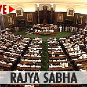 WATCH! Ruckus in Rajya Sabha over chopper deal