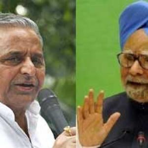 Dr Singh a nice man but a weak PM: Mulayam