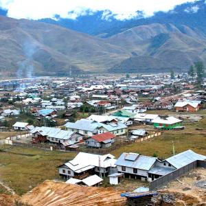 The last village in 'our' Arunachal