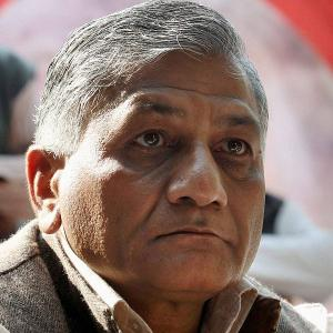 Boo V K Singh on Dalit killings: Not govt's fault if one stones a dog