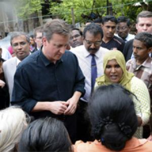 Rights abuse charges haunt Rajapaksa; Cameron gives ultimatum