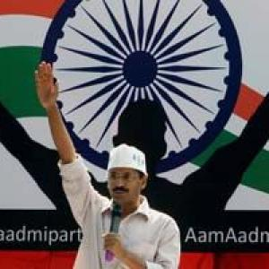 Will win in 33 out of 70 Delhi seats: Aam Aadmi Party survey