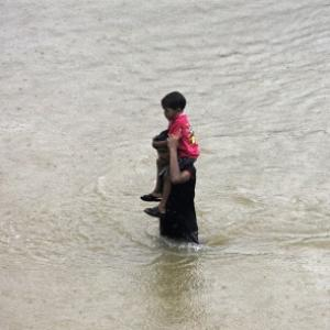Rains, floods unleash fury on Andhra, Odisha; 48 killed