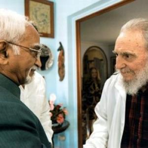 Fidel 'frail', but still the revolutionary of old