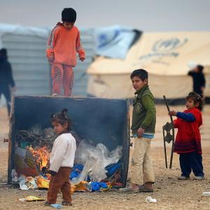 Tragically disunited: Inside a Syrian refugee camp