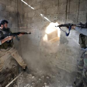PHOTOS: All-powerful Syrian rebels loaded with America's big guns