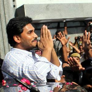 Jagan walks out of jail, his supporters celebrate