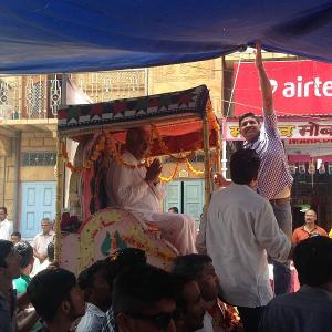 A Rajput storms the BJP fort