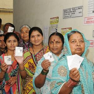 PIX: Moderate to high turnout in 5th phase of LS polls