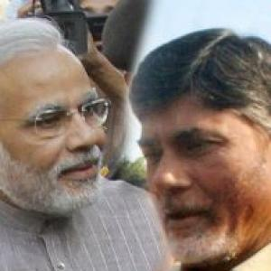 Despite differences, BJP and TDP put up a united front
