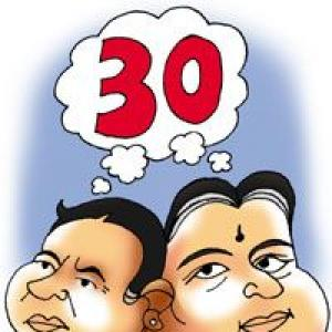 30 Plus powers Jaya, Mamata