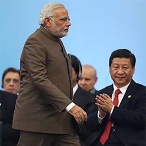 'China is investing in Modi's ego'
