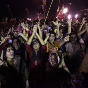 PHOTOS: Pakistan's 'Tahrir square' moment