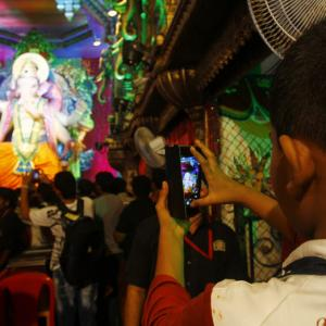 Mumbaicha Raja and a sea of devotees
