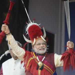 The many hats donned by PM Modi