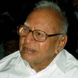 Justice V R Krishna Iyer One Of India S Greatest Judges Rediff Com India News