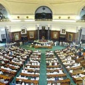 Parliament pandemonium: 18 Andhra MPs suspended from LS