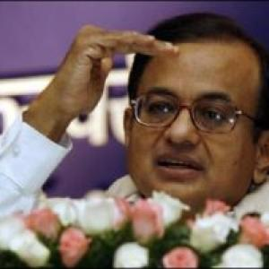 How MPs guarded Chidambaram during his budget speech