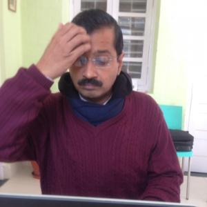 Exclusive! Kejriwal to Rediff: I will not contest LS polls