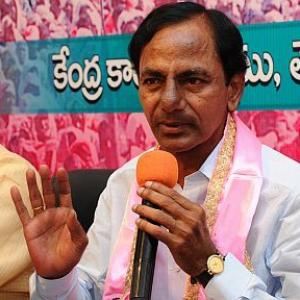 Cong says KCR ready for 'merger' but TRS sings 'alliance' tune