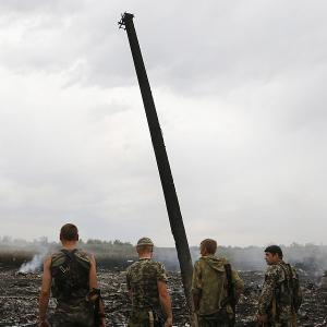 Malaysia Airlines flight shot down over Ukraine, 298 killed
