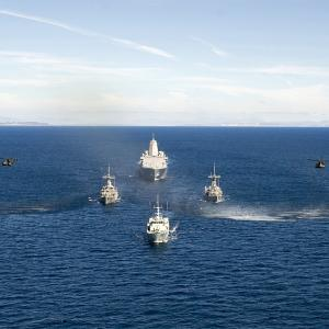 PHOTOS: World's largest naval exercise