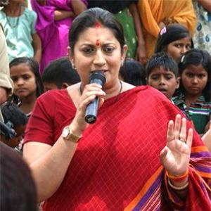 Vote: Dear or Respected Smriti Irani?