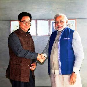 Exclusive! Kiren Rijiju: 'We must strengthen our position on China border'