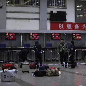'Islamic militants' behind China train station attack that left 33 dead