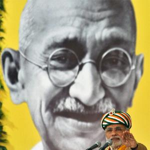 'The RSS is deeply uncomfortable about Gandhi'