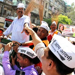 AAP ki kasam! When Mumbai fell for Kejriwal