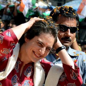Upset with SPG, Priyanka breaks security cordon