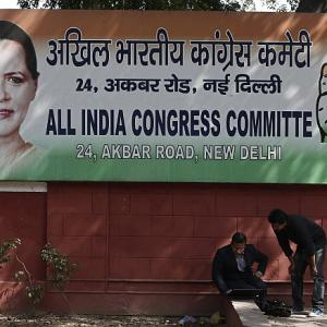 Congress 'humbly' accepts defeat, but continues to shield Rahul
