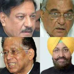 Congress battling renewed infighting in state units