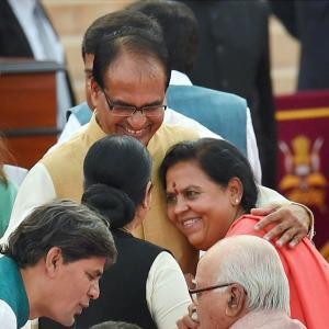 PHOTOS: 10 moments from Modi's swearing-in