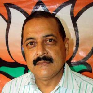 After triggering row, Jitendra evades questions on Article 370