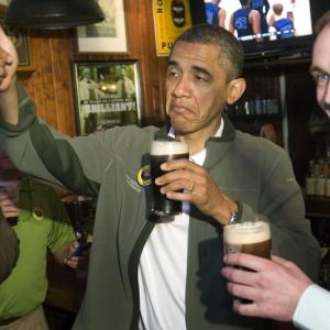 Bottoms up: When world leaders chilled with a drink