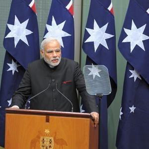 Modi tells Australia: 'You will be at the centre of our thought'