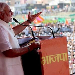 How Modi became the face of BJP in Maharashtra