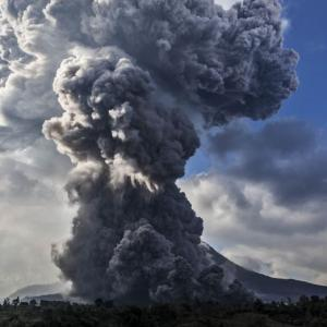 PHOTOS: Under the shadow of a volcano