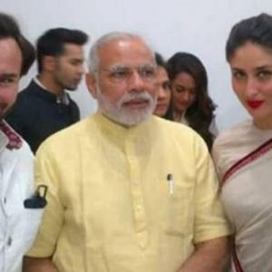 PHOTOS: When celebs got Modi-fied
