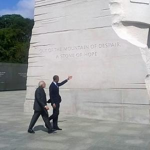 Obama joins Modi in paying homage to Martin Luther King