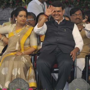 Devendra Fadnavis sworn in as Maharashtra CM