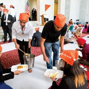 A peek into the first 'langar' on Capitol Hill