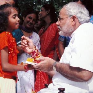 Meet PM Modi's 20-year-old rakhi sister