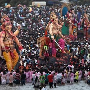 PHOTOS: Mumbai's fond farewell to Bappa