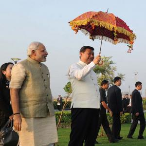 'China does not consider India as equal to itself'