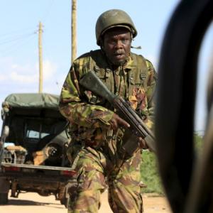 Gunmen storm Kenya university; 2 killed, 30 injured